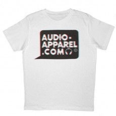 Audio-Apparel - 3D Logo bulle - White