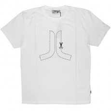 WESC T-Shirt - Cute Here Icon - White