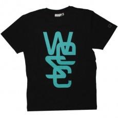 WESC T-shirt - Overlay - Black