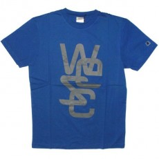 WESC T-shirt - Overlay - Greek Blue