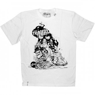 LRG T-shirt - White heroic tragedy tee