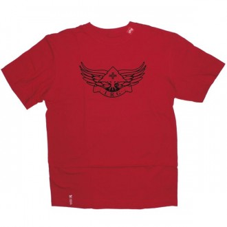 LRG T-shirt - Red elevate tee