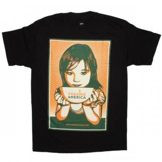 OBEY T-shirt - Feeding America - Black