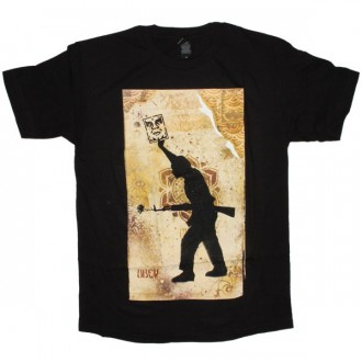 OBEY T-shirt - Sol - Black