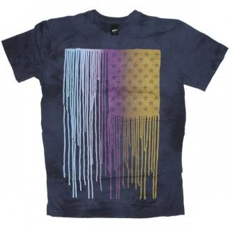 OBEY T-shirt - Run sucka, run - Indigo