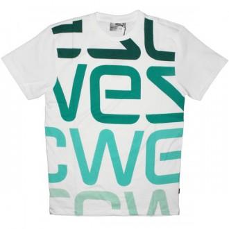 WESC T-Shirt - Wesc Logo Biggest - White