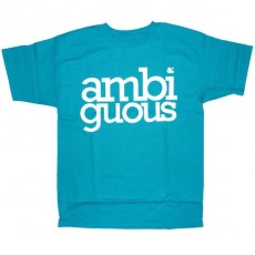 Ambiguous T-shirt - Simple - Turquoise
