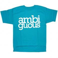 Ambiguous T-shirt - Simple - Turquoise