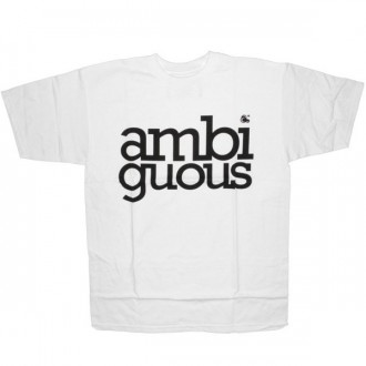 Ambiguous T-shirt - Simple - White