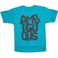 Ambiguous T-shirt - Tripes - Turquoise