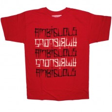 Ambiguous T-shirt - Typester - Red