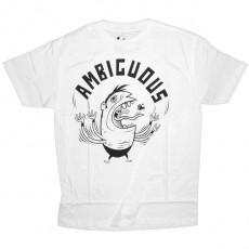 Ambiguous T-shirt - Juggler - White