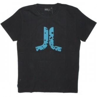 WESC T-shirt - Stash Icon Splatter - Black
