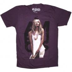 Ambiguous T-shirt - Brains logo - Eggplant