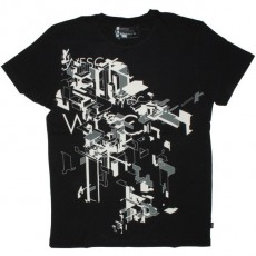 WESC T-shirt - Delta 91 - Black