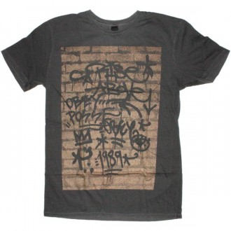 OBEY Light weight pigment T-shirt  - Graph