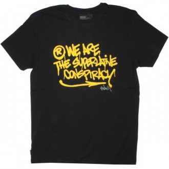 WESC T-shirt - Stash WeAre - Black