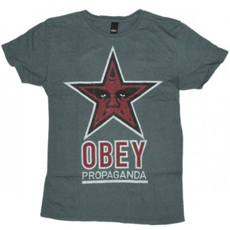 OBEY T-shirt - Og star thrift tee - Hydro