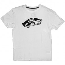 T-shirt Vans - Vans Off The Wall - White/Black