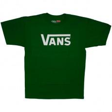 T-shirt Vans - Vans Classic - Kelly/White