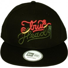 Casquette Snapback LRG x New Era - True Heads Hat - Black