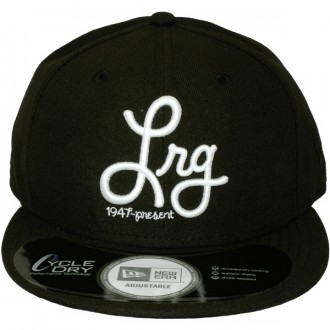 Casquette Snapback LRG x New Era - 1947-Present Hat - Black