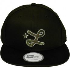 Casquette Snapback LRG x New Era - Camo L Hat - Black