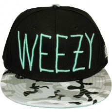 Casquette Snapback Cayler & Sons - Weezy - Black/Snow Camouflage