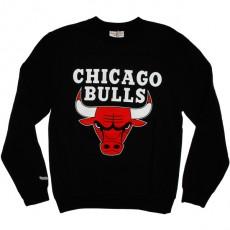 Sweat Mitchell & Ness - Standard Team Logo - Chicago Bulls - Black