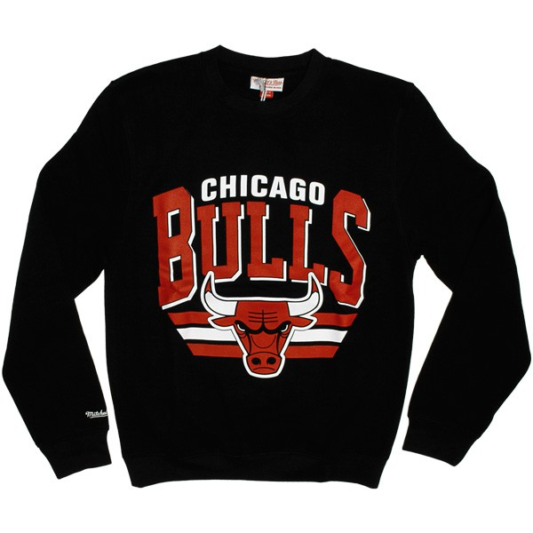 Sweat Mitchell   Ness - Stadium Crew - Chicago Bulls - Black d8f279f69c2a