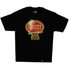 T-shirt Dissizit - Blunted - Black