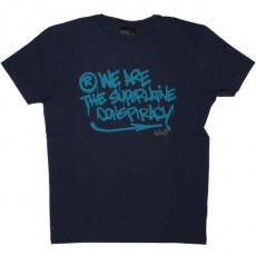 WESC T-shirt - Stash WeAre - Medium Blue