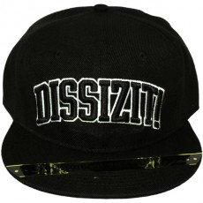 Casquette Snapback Dissizit - Collegiate - Black
