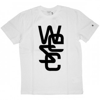 WESC T-shirt - Overlay - White