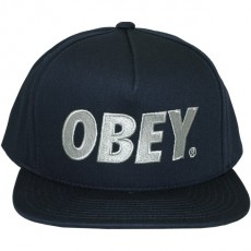 Casquette Snapback Obey - The City Snapback - Light navy
