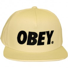 Casquette Snapback Obey - The City Snapback - Natural