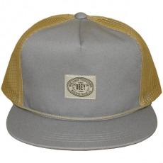 Casquette Trucker Obey - Lawnmower Trucker - Mineral blue/Sand