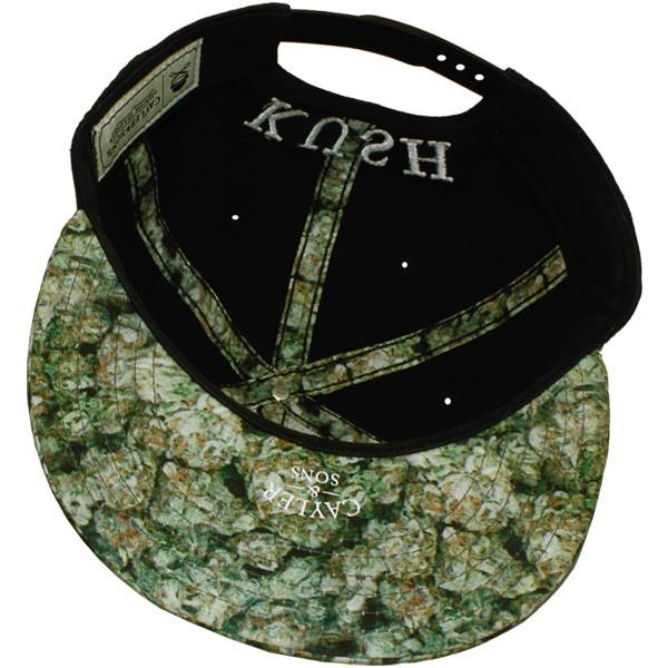 029cd1b8f2e7f Casquette Snapback Cayler   Sons - Kush - Black Green kush