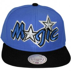 Casquette Snapback Mitchell & Ness - NBA XL Logo 2Tone TC - Orlando Magic