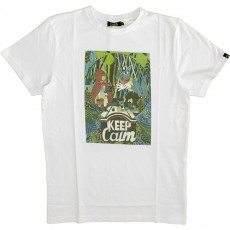 T-shirt Olow - Keep Calm - Blanc