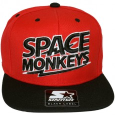 Casquette Snapback Space Monkeys x Starter - Zeus Snapback Cap - Red