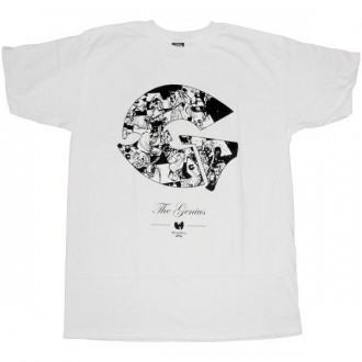 The Wu-Tang Brand T-Shirt - Genius Tee - White