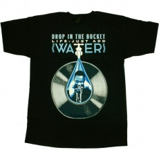 T-shirt Obey - Awareness - Drop In The Bucket - Navy