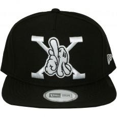 Casquette Snapback Dissizit x New Era - LAX - Black