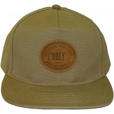 Casquette Strapback Obey - Mojave - Military Olive