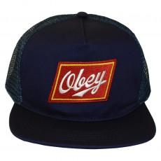 Casquette Trucker Obey - Malt Liquor - Navy