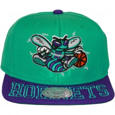 Casquette Snapback Mitchell & Ness - NBA Visor Hit - Charlotte Hornets