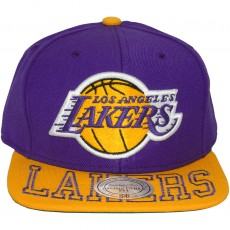 Casquette Snapback Mitchell & Ness - NBA Visor Hit - Los Angeles Lakers