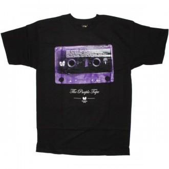 The Wu-Tang Brand T-Shirt - Purple Tape Tee - Black
