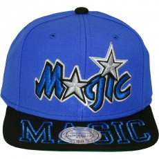 Casquette Snapback Mitchell & Ness - NBA Visor Hit - Orlando Magic
